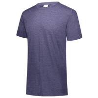 Augusta Sportswear Team Tri-Blend T-Shirt - Boys' Grade School - Purple