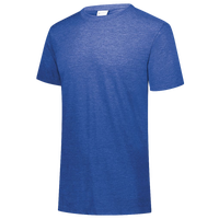 Augusta Sportswear Team Tri-Blend T-Shirt - Boys' Grade School - Blue