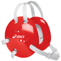 ASICS® Snap Down Earguard - Men's - Red / White
