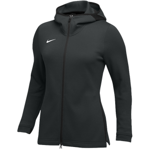 Nike Team Dry Showtime Full-Zip Hoodie - Women's - Black/White