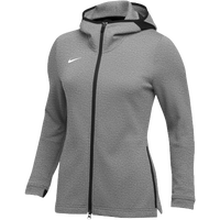 Nike Team Dry Showtime Full-Zip Hoodie - Women's - Grey / Black