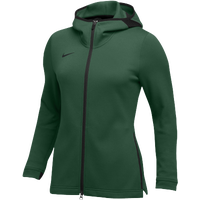 Nike Team Dry Showtime Full-Zip Hoodie - Women's - Dark Green