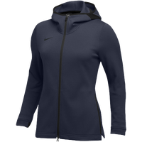 Nike Team Dry Showtime Full-Zip Hoodie - Women's - Navy / Black