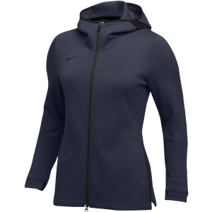 Nike Team Dry Showtime Full-Zip Hoodie - Women's - Navy/Black