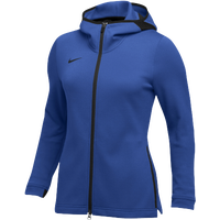 Nike Team Dry Showtime Full-Zip Hoodie - Women's - Blue / Black
