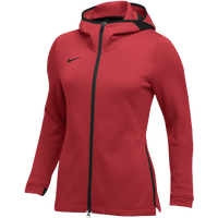 Nike Team Dry Showtime Full-Zip Hoodie - Women's - Red / Black