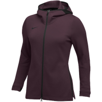 Nike Team Dry Showtime Full-Zip Hoodie - Women's - Maroon