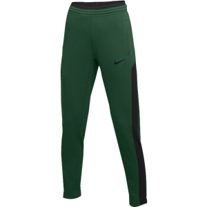 Nike Team Dry Showtime Pants - Women's - Dark Green/Black