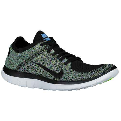Ultramoderne Nike Free 4.0 Flyknit - Women's - Running - Shoes - Black NV-71