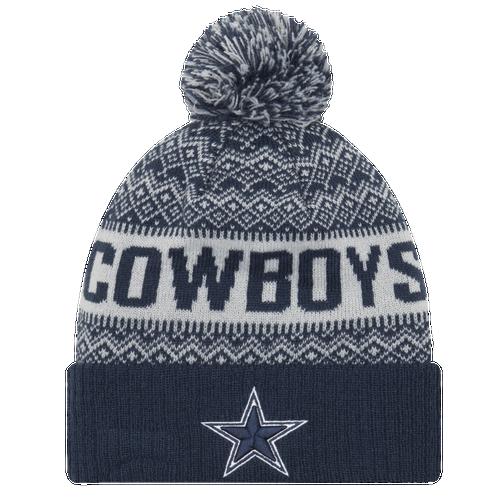 New Era NFL Wintry Cuff Pom Knit - Men s - Accessories - Dallas ... a0ac55f3e