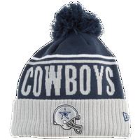 New Era NFL Cheer Cuff Pom Knit - Men s - Dallas Cowboys - Navy   Grey 94bd2e874