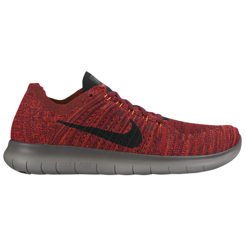 Nike Free RN Flyknit - Men's - Running - Shoes - Team Red/Total Crimson/Dark  Grey/Black