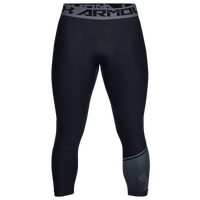 Under Armour HG Armour 2.0 3/4 Compression Tights - Men's - Black