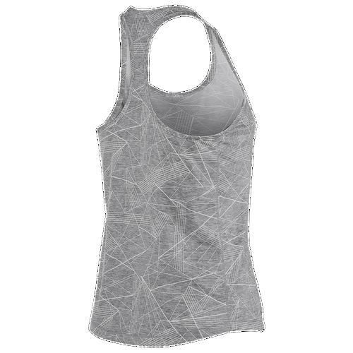 ASICS® Emma Racerback Tank - Women's - Running - Clothing - Grey Skyline  Print