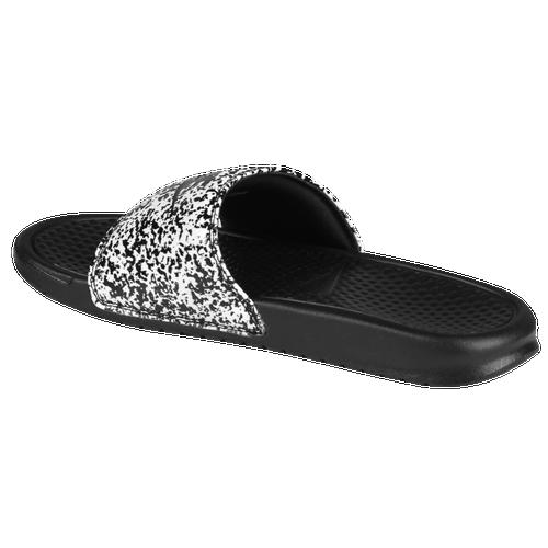 c33af17c8bf9 Nike Benassi JDI Slide - Men s - Casual - Shoes - White Black