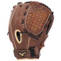 Mizuno Prospect Powerclose Glove - Youth - Brown