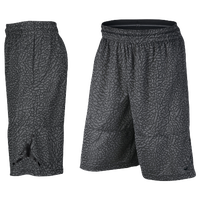 01ec519b032 Jordan Ele Print Shorts - Men's - Grey / Black