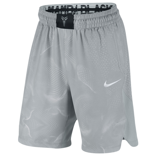 Nike Kobe Hyper Elite Shorts - Men's - Basketball - Clothing - Bryant, Kobe  - Wolf Grey/White