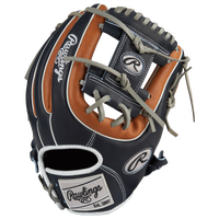 Rawlings Heart of the Hide Fielder's Glove - Men's - Navy / Brown