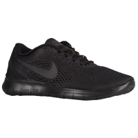 nike free runners womens black