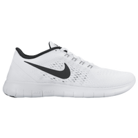 nike free run womens white