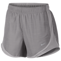 "Nike Dri-FIT 3.5"" Tempo Shorts - Women's - Grey"