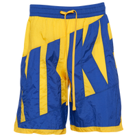 Nike Throwback Graphic Shorts - Men's - Yellow / Blue