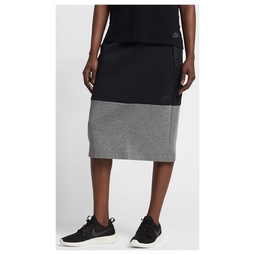 Nike Tech Fleece Skirt - Women s - Casual - Clothing - Black Carbon ... 852416b6bc