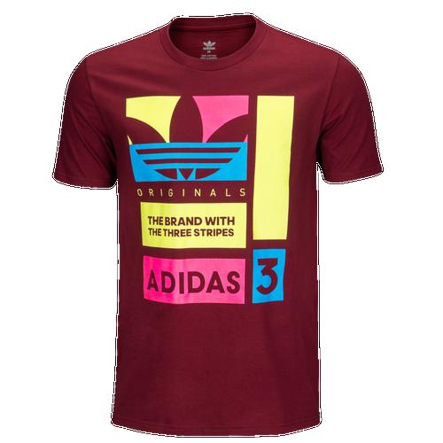 adidas Originals Graphic T-Shirt - Men s - Casual - Clothing -  Black Blue Pink 769d8e18f8c