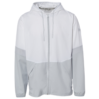 Under Armour Team Squad Woven 2.0 Warm-Up Jacket - Men's - White / Grey