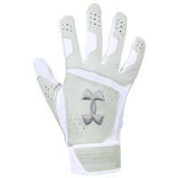 Under Armour Epic Batting Gloves - Men's - White / Grey