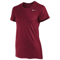 Nike Team Legend Short Sleeve T-Shirt - Women's - Red / Red