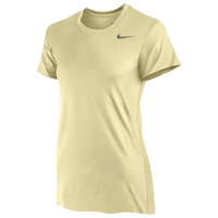 Nike Team Legend Short Sleeve T-Shirt - Women's - Gold / Gold