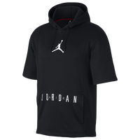 71e2928d55a Jordan Air Jordan Short Sleeve Hoodie - Men's - Black / White