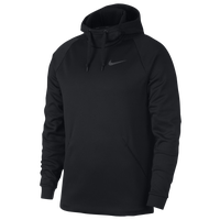 Nike Therma Fleece Hoodie - Men's - Black / Grey