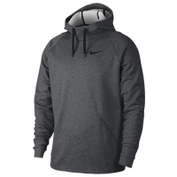 Nike Therma Fleece Hoodie - Men's - Grey / Black