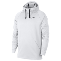 Nike Therma Fleece Hoodie - Men's - White / Black
