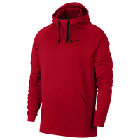 Nike Therma Fleece Hoodie - Men's - Red / Black