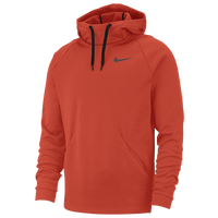 Nike Therma Fleece Hoodie - Men's - Orange