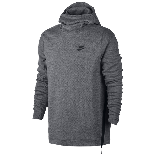 nike tech fleece pull over hoodie men 39 s casual clothing carbon heather. Black Bedroom Furniture Sets. Home Design Ideas