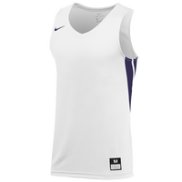 Nike Team National Jersey - Men's - White / Purple