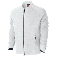 Nike Tech Knit Jacket - Men's - Casual - Clothing - White/Pure ...