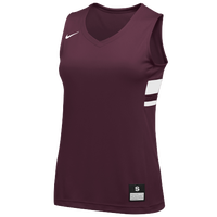 Nike Team National Jersey - Women's - Maroon / White