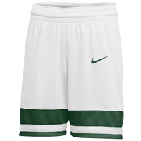 Nike Team National Shorts - Women's - White / Dark Green