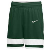 Nike Team National Shorts - Women's - Dark Green / White