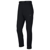 Nike Therma Fleece Pants - Men's - Black / Grey