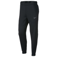 Nike Therma Fleece Tapered Pants - Men's - Black / Silver