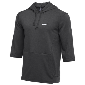 Tres Lustre Marina  Nike Team Flux Hoodie - Men's - For All Sports - Clothing - Charcoal  Heather/Wolf Grey