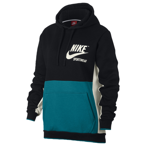 355de04be36b Nike Archive Pullover Hoodie - Men s - Casual - Clothing - Black ...