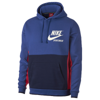 0fc1df00aa34 Nike Archive Pullover Hoodie - Men s - Blue   White